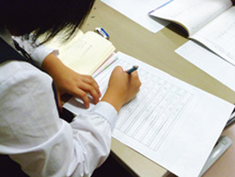 ペン字の授業