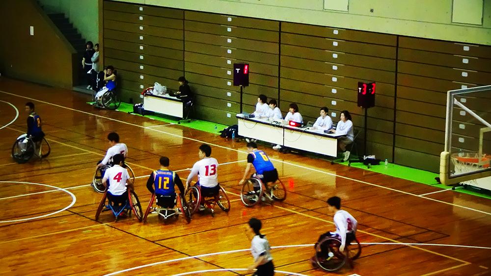 サンライズ杯争奪車椅子バスケットボール九州大会をサポート